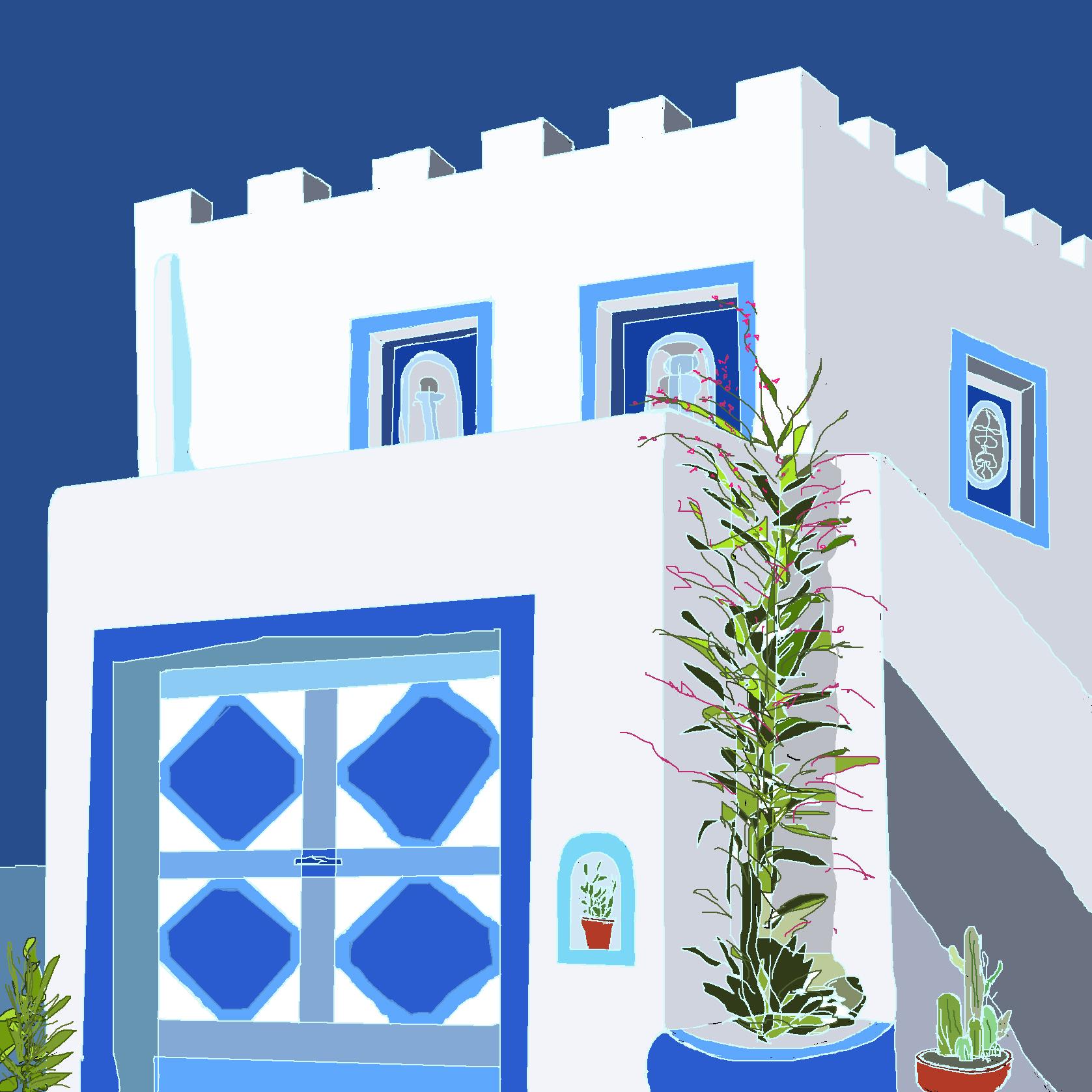 maison à la grecque